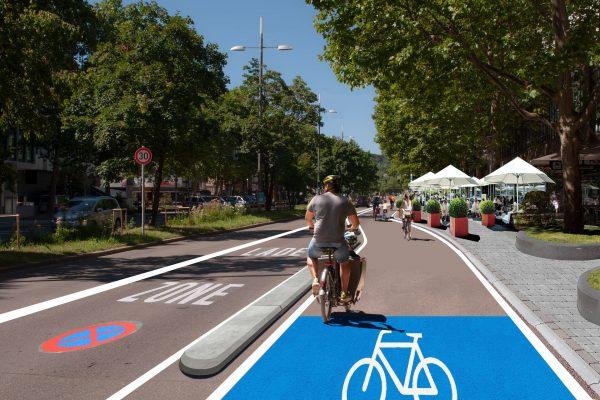 Radentscheid zeigt Verbesserungsbedarfe und Möglichkeiten die Stadt mit dem Mittel der Pop-up-Bikelanes weiter aufzuwerten